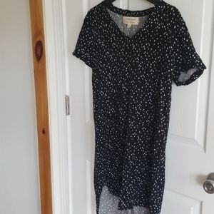 Anthropologie speckled tunic
